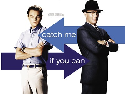 catch me if you can movie review essays Reviews: catch me if you can toggle i recommend catch me if you can to anyone who can enjoy a movie for what it is catch me if you can is a true.